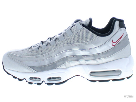【US9.5】NIKE AIR MAX 95 PREMIUM QS 918359-001 metallic silver/varsity red