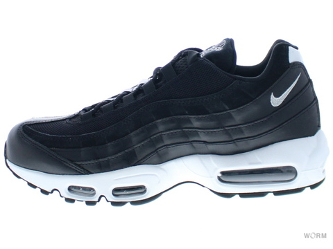 【US9.5】NIKE AIR MAX 95 PRM 538416-008 black/chrome-black-off white