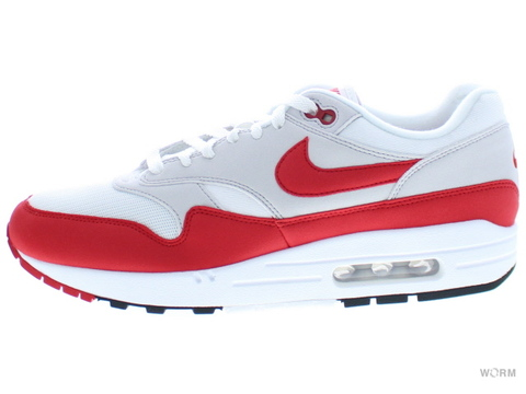 NIKE AIR MAX 1 ANNIVERSARY 908375-103 white/university red