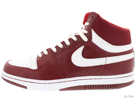 【US10】NIKE COURT FORCE HI 312270-611 team red/white
