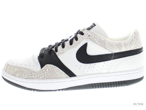NIKE COURT FORCE LOW 314191-101 white/black-cocoa