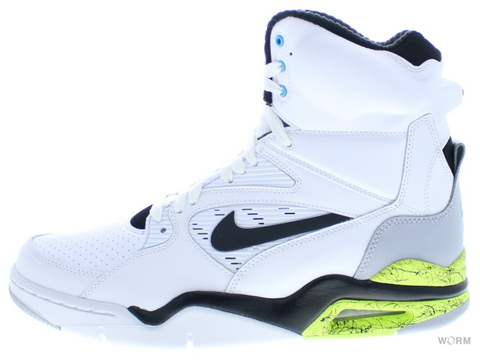 【US9.5】NIKE AIR COMMAND FORCE 684715-100 white/black-wolf grey-volt