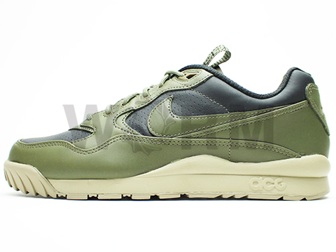 【US8】NIKE AIR WILDWOOD LE PRM QS 716464-032 black/medium olive-bamboo
