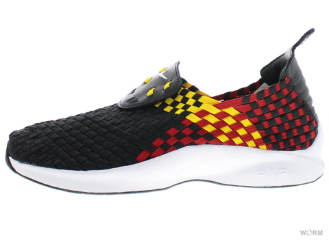【US9】NIKE AIR WOVEN QS 530986-014 black/white-tour yellow