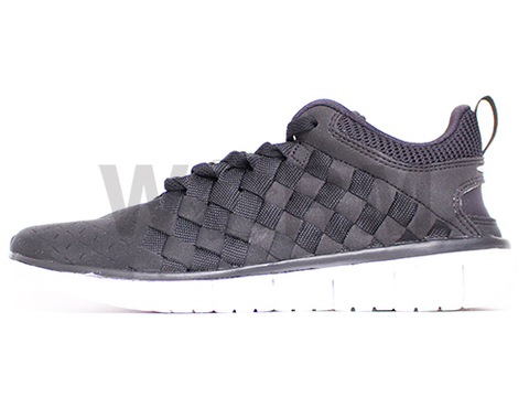 【US8】NIKE FREE OG '14 WOVEN 725070-001 black/black-cool grey-white