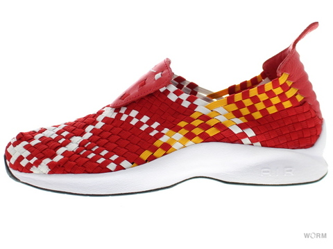 【US10】NIKE AIR WOVEN QS 530986-610 unvrsty red/white-unvrsty gld