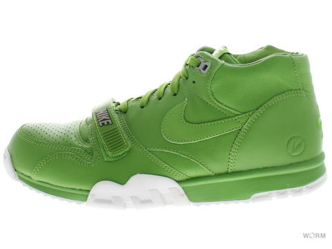 【US10】NIKE AIR TRAINER 1 MID SP / FRAGMENT 806942-331 chilorophyll/chilorophyll-white