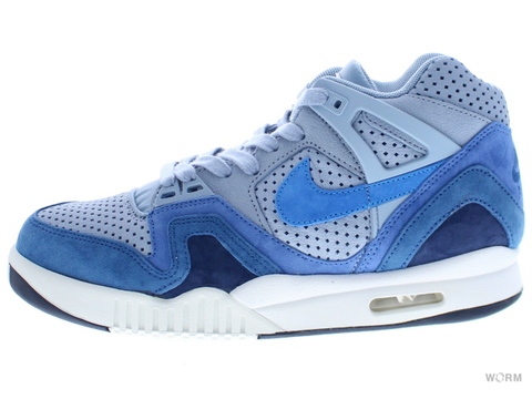 【US8】NIKE TECH CHALLENGE II QS 667444-404 bl grey/pht bl-obsdn-smmt wht