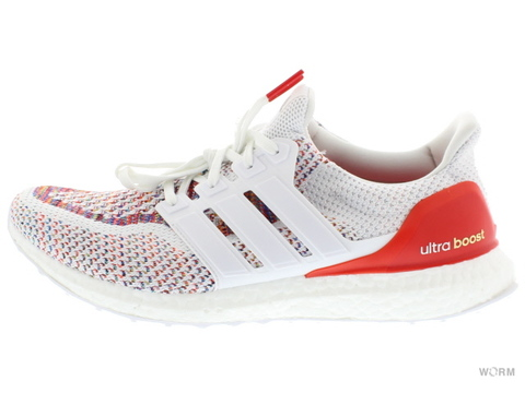 【US9.5】adidas ULTRA BOOST M bb3911 white/red/multi