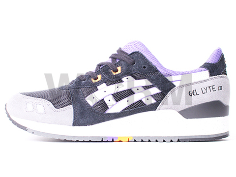 【US11】ASICS GEL-LYTE III th425l-9001 black/purple/orange/white