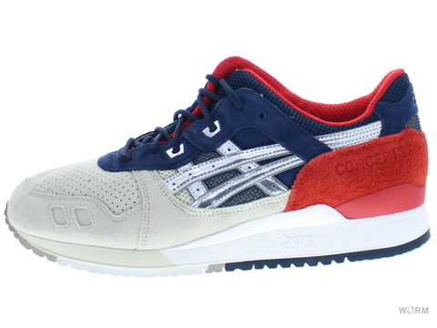 "【US12】asics GEL-LYTE III ""CONCEPTS"" h50tk-9394 red/blue/gold"