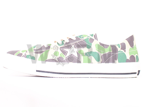 【US10.5】CONVERSE ONE STAR 83-CAMO OX 1c179 beige