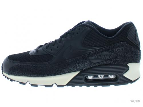 NIKE AIR MAX 90 LEATHER PA 705012-001 black/black-black-sea glass