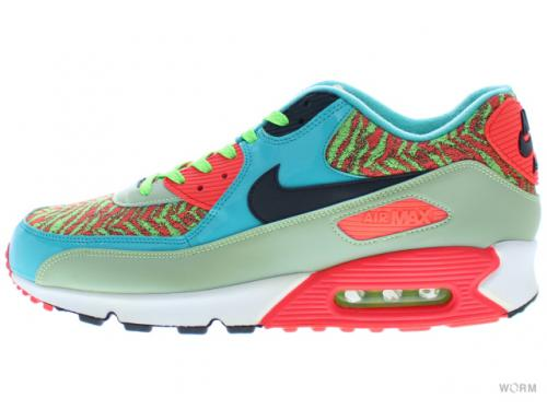 US12 NIKE AIR MAX 90 ANNIVERSARY 725253-306 flash lime blck- b2d32d47ba1