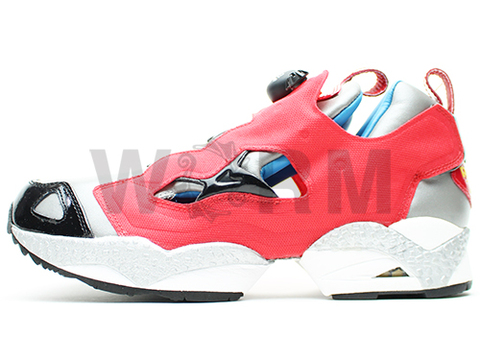 "Reebok INSTAPUMP FURY ""VOLTRON "" 1-172295 red/silver"