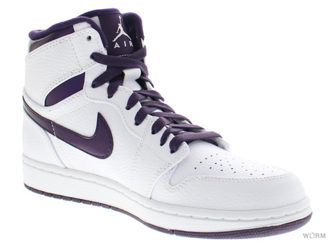 "【US9.5】AIR JORDAN 1 RETRO HIGH ""DO THE RIGHT THING"" 332550-151 white/grand purple"