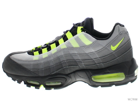 "NIKE AIR MAX 95 OG ""UENO"" 554970-070 black/neon yellow-anthracite"