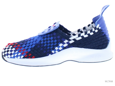 【US8】NIKE AIR WOVEN QS 530986-460 obsidian/unvrsty red-dp ryl bl