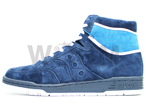 "【US10】Saucony HANGTIME HI ""White Mountaineering"" 70129-2 nvy"