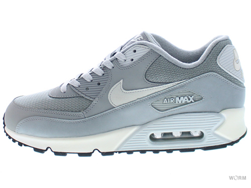 【US10】NIKE AIR MAX 90 ESSENTIAL 537384-028 base grey/lt base grey-sail