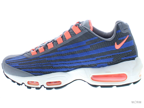 【US8.5】NIKE AIR MAX 95 JCRD 644793-004 cool grey/brght mng-blk-gm ryl