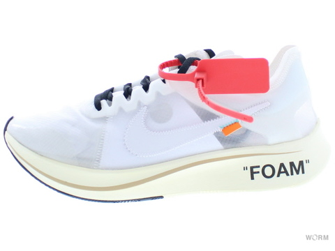 "【US9.5】THE 10:NIKE ZOOM FLY ""OFF-WHITE"" aj4588-100 white/white-muslin"