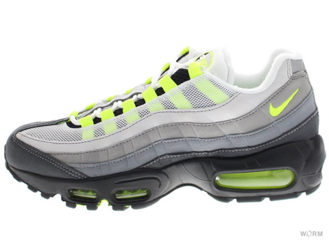 "【US9】NIKE AIR MAX 95 OG ""2015"" 554970-071 black/volt-medium ash-dk pwtr"