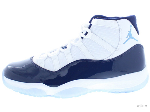 "AIR JORDAN 11 RETRO ""WIN LIKE '82"" 378037-123 white/university blue"