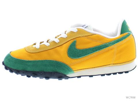 "【US9.5】NIKE WAFFLE RACER II ""2002"" 303918-731 med yellow/pine green-white"