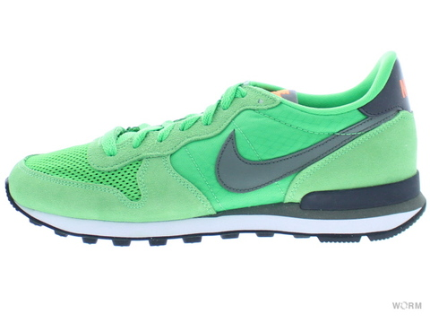 【US8】NIKE INTERNATIONALIST 631754-301 lt green spark/rvr rck-anthrct