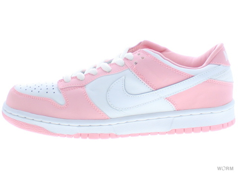 "【27.5cm】WMNS NIKE DUNK LOW PRO ""2001"" 302517-111 white/white-real pink"