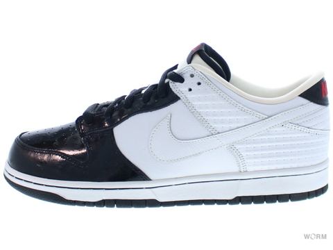 "【US10.5】NIKE DUNK LOW PREMIUM ""JORDAN PACK"" 307696-113 white/white-black"