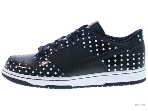"【US11】NIKE DUNK LOW PRB ""POLKA DOT PACK "" 314886-001 black/black-white"