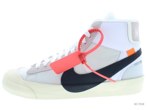 "【US6】THE 10:NIKE BLAZER MID ""OFF-WHITE"" aa3832-100 white/black-muslin"
