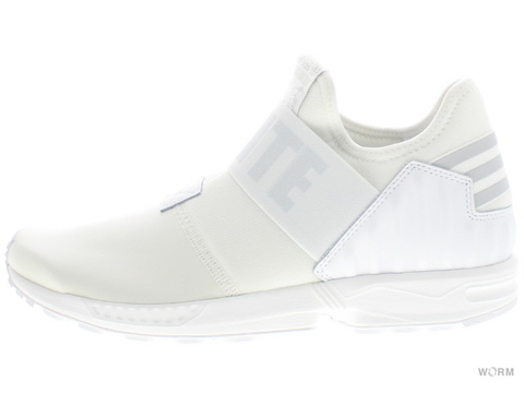 "【US10.5】adidas ZX FLUX ""White Mountaineering"" aq3271 ftwwht/clgrey/ltonix"