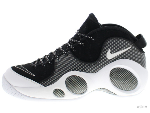 【US10.5】NIKE AIR ZOOM FLIGHT 95 SE 806404-001 black/white-metallic silver